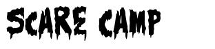 Scare Camp font