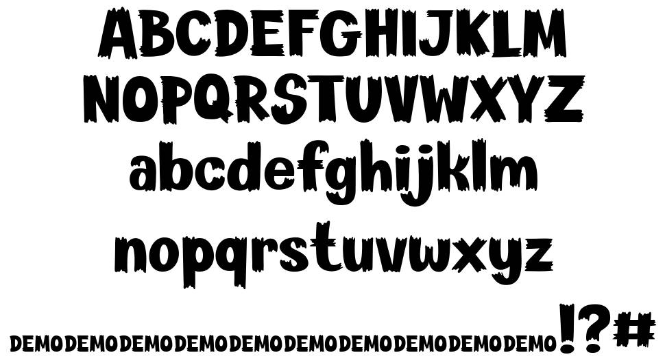 Scary Feet font
