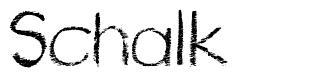Schalk font