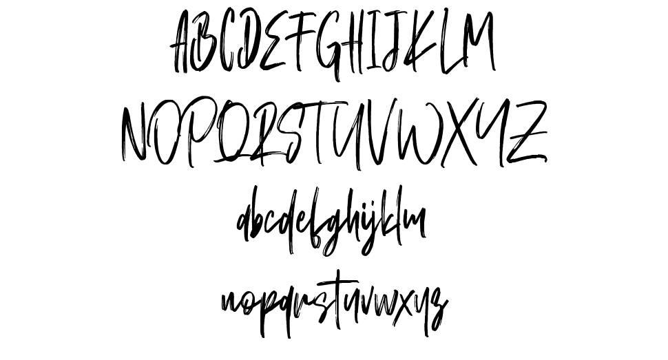 Schrader font