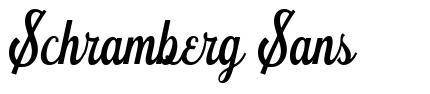 Schramberg Sans