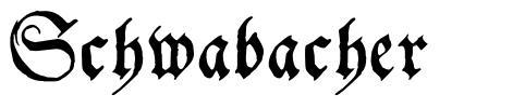 Schwabacher 字形