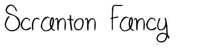 Scranton Fancy font