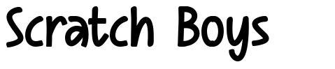 Scratch Boys フォント