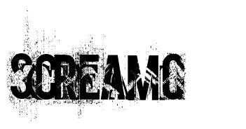 Screamo 字形