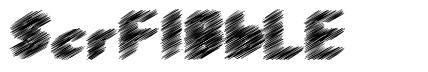 ScrFIBbLE font