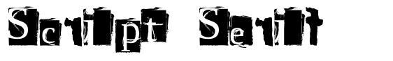 Script Serif font