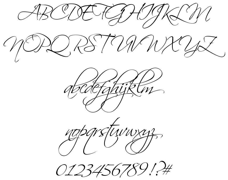 Top 20 Most Beautiful Calligraphy Fonts