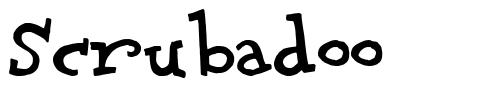 Scrubadoo font