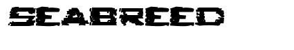 Seabreed font
