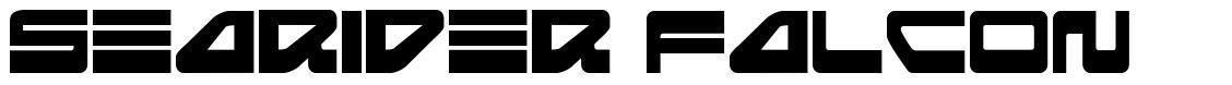 Searider Falcon font