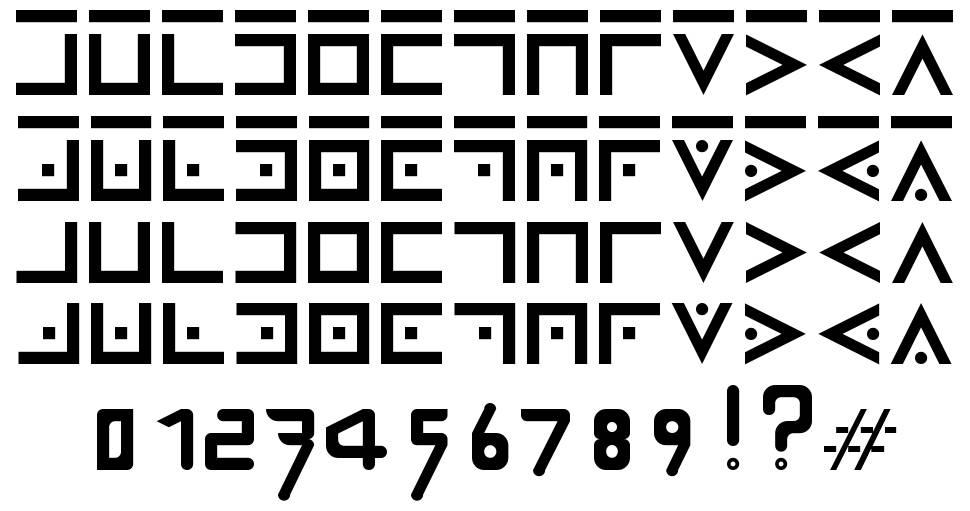 Secret Thorn font