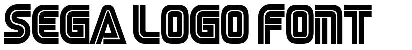 Sega Logo Font czcionkę