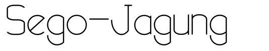 Sego-Jagung fuente