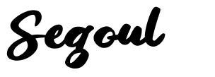 Segoul