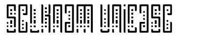 Selknam Unicase font
