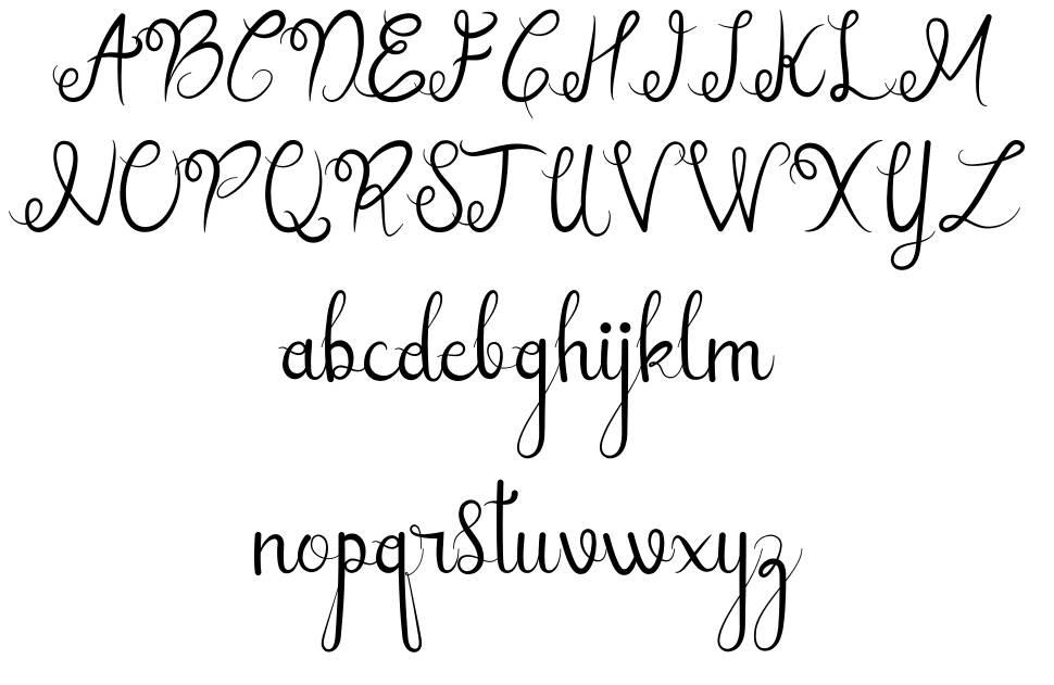 Sellebeew шрифт