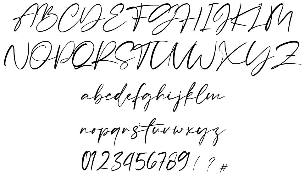 Sellviny шрифт