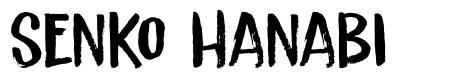 Senko Hanabi font
