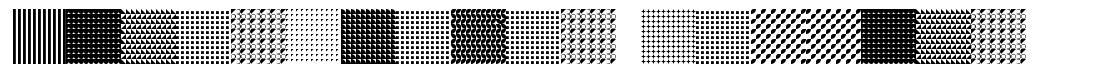 Serangkaian Pattern font