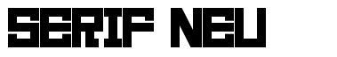 Serif Neu 字形