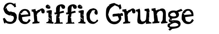 Seriffic Grunge