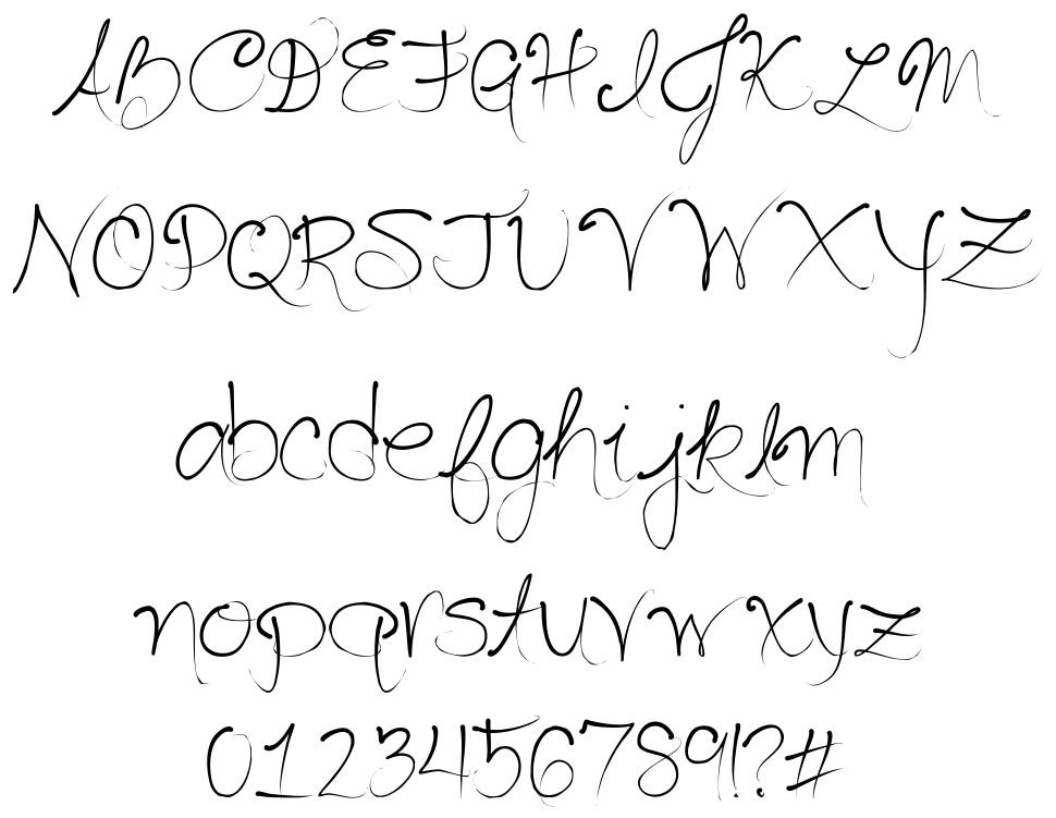 Seriously Delirious font