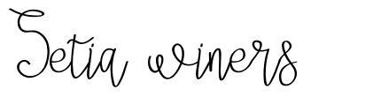 Setia winers