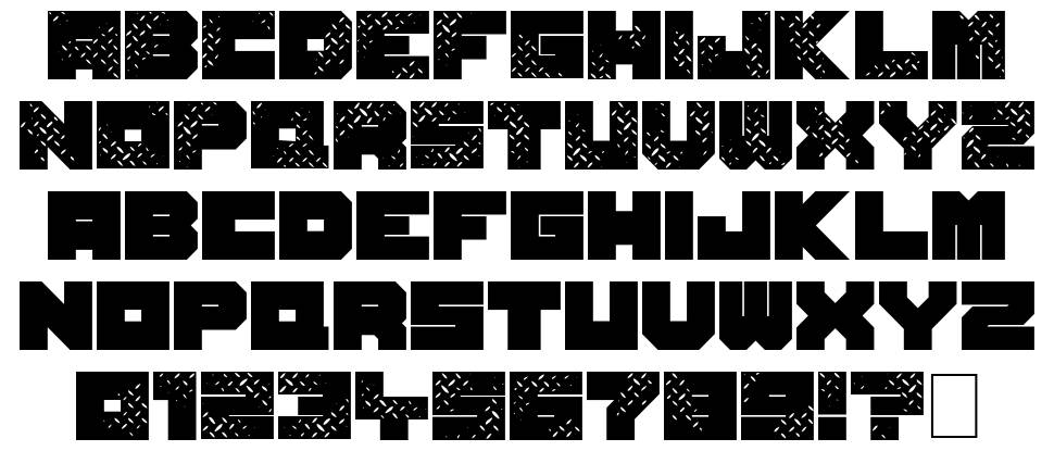 Seven of One font