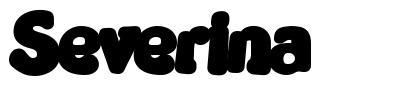 Severina font