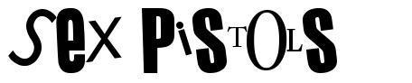Sex Pistols 字形