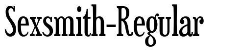 Sexsmith-Regular font