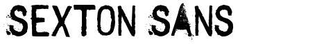 Sexton Sans