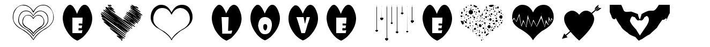 Sexy Love Hearts font