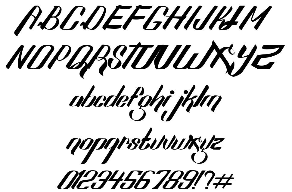 Sexy Shout font