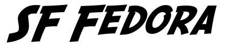 SF Fedora font