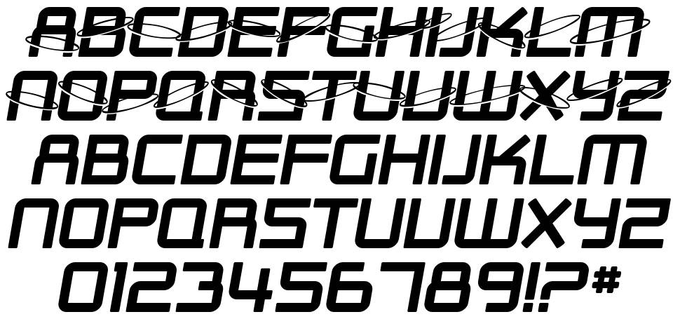SF Outer Limits font
