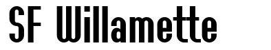 SF Willamette font