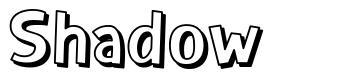 Shadow font