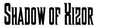 Shadow of Xizor font