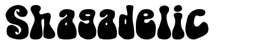 Shagadelic font