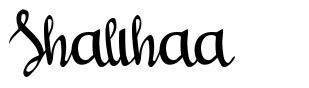 Shalihaa