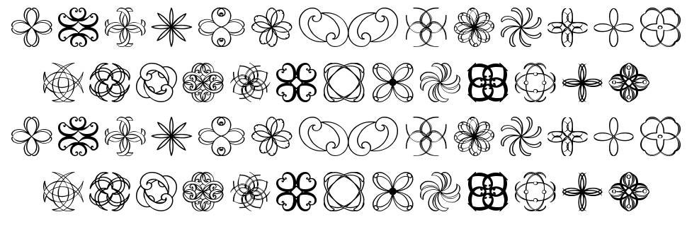 Shapes St font