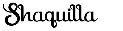 Shaquilla font