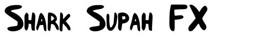 Shark Supah FX font