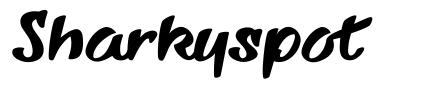 Sharkyspot font