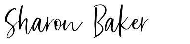 Sharon Baker шрифт