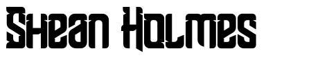 Shean Holmes font