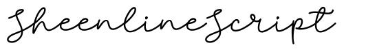 Sheenline Script