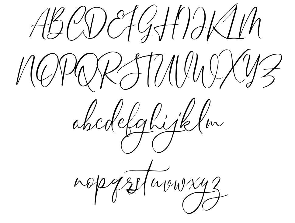 Sheilazain шрифт
